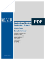 AIR CCTP Evaluation Interim Report Exec Summary 091514 Final