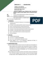 Informe Legal Nº Aprobacion