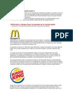 Burger King Vs