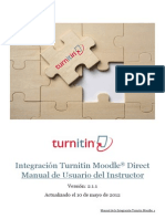 ES Turnitin-Moodle Direct Instructor Manual