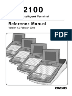 Casio QT2100 Reference User Manual