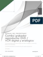 Manual de Uso Grabador Reproductor RCT689H
