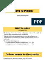 Diagnostico de Imagenes:Cáncer de Pulmón