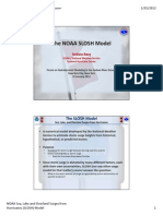 The NOAA SLOSH Model