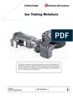 E-Plus Tubing Rotator Operating Instructions