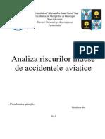 Riscuri Aviatice- Final