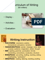 leah curriculum of writing