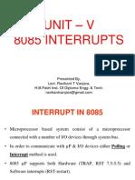 Interrupts in 8085