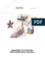 HyperMesh 12.0 Tutorials-PAMCRASH