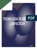 Clase 1 -Introduccion a Las Mezclas Asfalticas