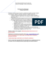 Evaluare Psihoterapie ID 2013-3014