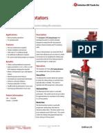 CTR Tubing Rotator Technical Datasheet