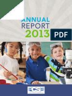 2013 Annual Report DC Public Charter School Board
