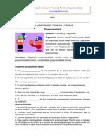 Ficha Proporcionalidad
