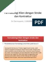 Farmakologi Klien dengan Stroke Dan Kontraktur