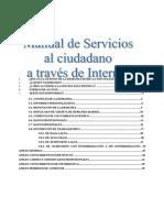 Manual de Servicios Web Fecha 16-09-2013