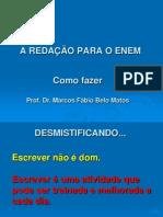 Redacao Para o Enem_prof.marcosFabio