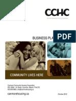 Cchc Business Plan 2013-15 Final