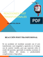 Reacciones postransfusionales.ppt