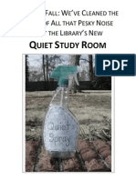 Quiet Study - Quiet Spray