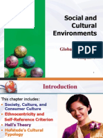 socio cultural enviroment