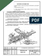 Sistem de directie detaliat
