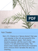 Noh and Kabuki a Brief Definitions