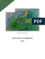 Alice Faber og Kunstrejse til Færøerne 2014