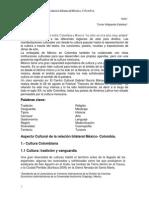 Aspecto Cultural Relación Bilateral México