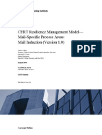 CERT Resilience Management Model— Mail-Specific Process Areas