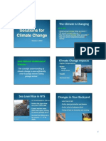 Solutions for Climate Change