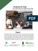 Designing the Edge Creating a Living Urban Shore at Harlem River Park