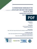 FORUM ON HYDRODYNAMIC MODELING IN THE HUDSON RIVER ESTUARY AND NEW YORK HARBOR