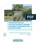 PROCEEDINGS REGIONAL (NY-NJ-DE) DIALOGUE TO ADVANCE SUSTAINABLE SHORELINES ALONG SHELTERED COASTS