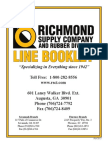 2013 Richmond Industrial Supply Catalog