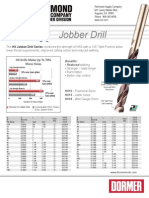 Dormer HX Jobber Drill Series - Richmond Industrial Supply