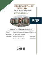 Monografia Final de Calculo de Elementos II