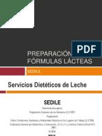 Preparaciones de Fórmulas Lacteas