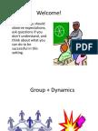 Group Dynamics 1-14
