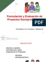 Formul y Evalua  de Proyectos Socioproductivos- versión I.ppt