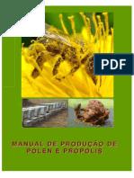 Manual de Produção Pólen e Propolis