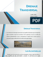 Drenaje Transversal