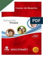 Educación Primaria Tema 1
