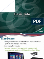 1 Computer Orientation Basic Info