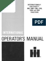 Cub Cadet 1650 PDF