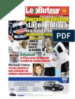 LE BUTEUR PDF du 13/12/2009