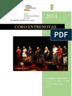 Projeto Coro Entrenotas