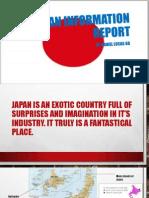 Japan Information Report Task C