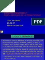 CUIDADOS PRENATALES