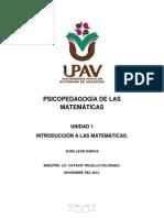 Unidad 1 Matemáticas